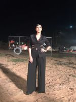 Neha Dhupia on the sets of Roadies on 22nd March 2017 (14)_58d3a1cdd8e6c.jpeg