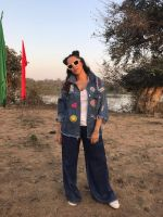 Neha Dhupia on the sets of Roadies on 22nd March 2017 (21)_58d3a1dcb95b3.jpeg