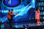 Vidya Balan on the Sets Of Indian Idol to Promote Film Begum Jaan on 22nd March 2017 (19)_58d3705e74084.JPG