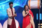 Vidya Balan on the Sets Of Indian Idol to Promote Film Begum Jaan on 22nd March 2017 (12)_58d37049505ac.JPG