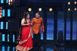 Vidya Balan on the Sets Of Indian Idol to Promote Film Begum Jaan on 22nd March 2017 (23)_58d37070d04f4.JPG