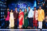 Vidya Balan on the Sets Of Indian Idol to Promote Film Begum Jaan on 22nd March 2017 (31)_58d370a19b218.JPG