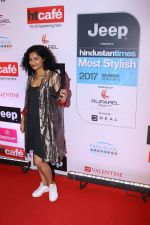 Gauri Shinde at the Red Carpet Of Most Stylish Awards 2017 on 24th March 2017