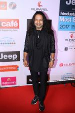 Kailash Kher at the Red Carpet Of Most Stylish Awards 2017 on 24th March 2017 (46)_58d652fb4e909.JPG