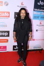 Kailash Kher at the Red Carpet Of Most Stylish Awards 2017 on 24th March 2017 (48)_58d652fe15183.JPG