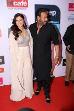 Kajol, Ajay Devgan at the Red Carpet Of Most Stylish Awards 2017 on 24th March 2017 (94)_58d6530d552e9.JPG