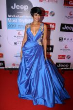 Mandira Bedi at the Red Carpet Of Most Stylish Awards 2017 on 24th March 2017