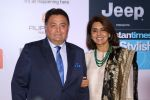 Rishi Kapoor, Neetu Singh at the Red Carpet Of Most Stylish Awards 2017 on 24th March 2017 (125)_58d65433dc76b.JPG