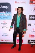 Shaan at the Red Carpet Of Most Stylish Awards 2017 on 24th March 2017