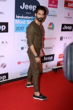 Shahid Kapoor at the Red Carpet Of Most Stylish Awards 2017 on 24th March 2017