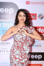 Shraddha Kapoor at the Red Carpet Of Most Stylish Awards 2017 on 24th March 2017 (181)_58d6548b8ea12.JPG