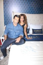 Bipasha Basu & Karan Singh Grover at the Launch Of Springfit Mattress Autograph Collection on 25th March 2017 (92)_58d7a2b760afb.JPG