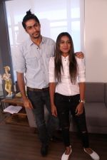 Nia Sharma & Namit Khanna at an Interview For Web Series Twisted on 25th March 2017 (10)_58d79f2019775.JPG