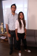 Nia Sharma & Namit Khanna at an Interview For Web Series Twisted on 25th March 2017 (4)_58d79f1ce1047.JPG