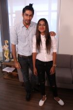 Nia Sharma & Namit Khanna at an Interview For Web Series Twisted on 25th March 2017 (6)_58d79f1e8d1a5.JPG