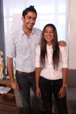 Nia Sharma & Namit Khanna at an Interview For Web Series Twisted on 25th March 2017 (8)_58d79f33e29c7.JPG