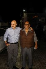 Anupam Kher, Satish Kaushik at the Special Screening Of Film Naam Shabana on 29th March 2017