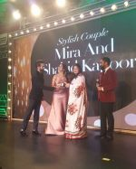 Shahid Kapoor, Mira Rajput On Red Carpet Of Hello Hall Of Fame Awards on 29th March 2017 (8)_58dccf26bce26.jpg