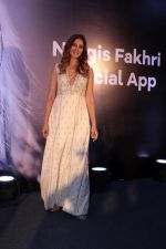 Nargis Fakhri at the launch Of Her Own Mobile App on 12th April 2017 (47)_58f367f9234ed.JPG