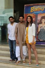Parineeti Chopra, Ayushmann Khurrana, Akshay Roy at the promotion of film Meri Pyaari Bindu (100)_58f4cc9f9b608.JPG
