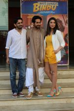 Parineeti Chopra, Ayushmann Khurrana, Akshay Roy at the promotion of film Meri Pyaari Bindu (106)_58f4cca3903a9.JPG