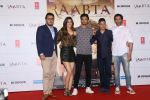 Sushant Singh Rajput, Kriti Sanon, Bhushan Kumar, Dinesh Vijan At Trailer Launch Of Film Raabta on 17th April 2017 (19)_58f4aa17305ff.JPG