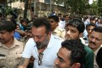 Sanjay Dutt Spotted At Andheri Court on 17th April 2017 (1)_58f5efd464228.JPG