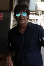 Chunky Pandey at an Interview For Film Begum Jaan on 18th April 2017