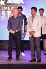 Anupam Kher at The Grand Finale Of Max Emerging Star on 19th April 2017