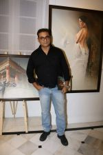 Abhijeet Bhattacharya at An Art Exhibition on 1st May 2017 (4)_590817b0256a0.JPG