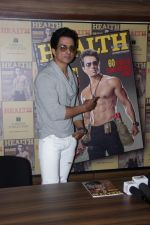 Sonu Sood Flaunts His Abs On The Cover Of A Health Magazine on 3rd May 2017