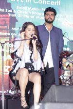 Arjun Kapoor, Shraddha Kapoor at the Half Girlfriend Music Concert on 4th May 2017