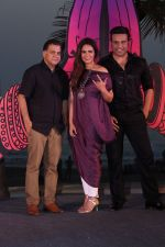 Mona Singh, Krishna Abhishek at the Launch Of Colors India Banega Manch on 4th May 2017 (20)_590c38f07a240.JPG