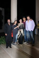 Sanjay Dutt, Manyata Dutt, Aditi Rao Hydari, Shekhar Suman at the Team Of Film Bhoomi Celebrating The Completion Of Film on 5th May 2017 (46)_5912a2130be6d.JPG