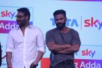 Ajay Devgan & Suniel Shetty At Launch Of Tata Sky Next Pioneering Initiative on 15th May 2017 (12)_591c35d8cbcce.JPG