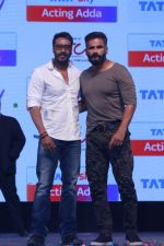 Ajay Devgan & Suniel Shetty At Launch Of Tata Sky Next Pioneering Initiative on 15th May 2017