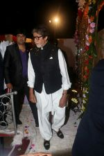 Amitabh Bachchan at Actor Ali Khan_s Daughter Wedding Reception Celebration on 20th May 2017 (16)_5921241de3a0a.JPG