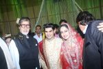 Amitabh Bachchan at Actor Ali Khan_s Daughter Wedding Reception Celebration on 20th May 2017 (21)_5921242a99708.JPG