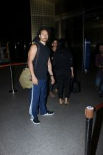 Tiger shroff spotted at international airport on 20th May 2017