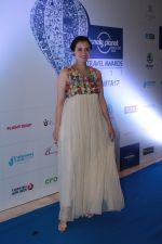 Dia Mirza at the Red Carpet Of 6th Lonely Planet Magazine India Travel Awards on 25th May 2017 (39)_59280273844f1.JPG