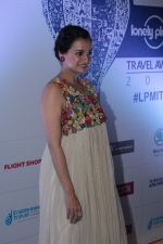 Dia Mirza at the Red Carpet Of 6th Lonely Planet Magazine India Travel Awards on 25th May 2017