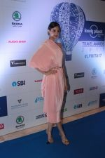 Diana Penty at the Red Carpet Of 6th Lonely Planet Magazine India Travel Awards on 25th May 2017