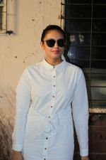 Huma Qureshi Spotted At Scrabble Digital Studio on 27th May 2017 (4)_592b92d80678c.JPG