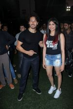 Tiger Shroff, Adah Sharma at the Launch Of The Second Edition Of Super Soccer Tournament on 28th May 2017 (19)_592bc9cf42c8f.JPG