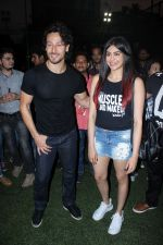 Tiger Shroff, Adah Sharma at the Launch Of The Second Edition Of Super Soccer Tournament on 28th May 2017 (21)_592bc9d130e18.JPG