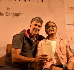 Milind Soman Launches Probir Sengupta_s Debut Book Unclothed on 31st May 2017 (1)_592fb4f571491.JPG
