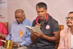 Milind Soman Launches Probir Sengupta_s Debut Book Unclothed on 31st May 2017 (4)_592fb4fc48723.JPG