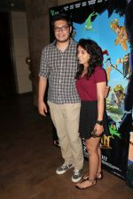 Junaid Khan, Ira Khan at the Special Screening Of Film Hanuman Da Damda on 1st June 2017 (30)_593168f73eced.JPG