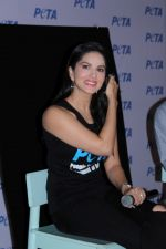 Sunny Leone Launch Peta Newest Vegetarian Campaign on 1st June 2017 (7)_59310f608ab5d.JPG