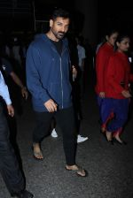 John Abraham Spotted At International Airport on 2nd June 2017 (5)_5932b5eaeb034.JPG